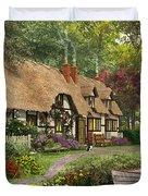 Woodland Walk Cottage Duvet Cover