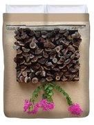 Woodpile Plus Duvet Cover