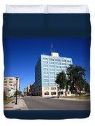 Springfield Missouri - Woodruff Building Duvet Cover