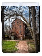 Wood's Grist Mill In Hobart Indiana Duvet Cover