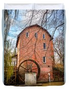 Wood's Grist Mill In Northwest Indiana Duvet Cover