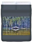 Woods Lake 1 Duvet Cover