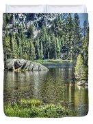 Woods Lake 2 Duvet Cover