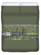 Woods Lake 4 Duvet Cover