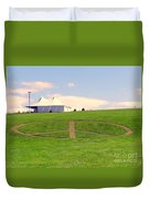 Woodstock Hill Of Peace Duvet Cover