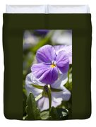Woodward Pansy Duvet Cover