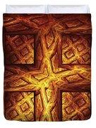 Woodwork Duvet Cover