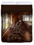 Woodworker - The Art Of Lathing Duvet Cover