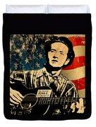 Woody Guthrie 1 Duvet Cover