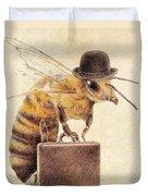 Worker Bee Duvet Cover