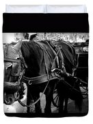 Working Horse Duvet Cover