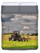 Working The Land Duvet Cover