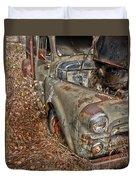 Working Truck  Duvet Cover
