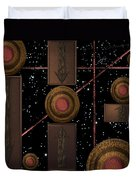 Workings Of The Universe Duvet Cover
