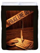 Workplace Violence Duvet Cover