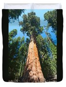 World Famous General Sherman Sequoia Tree In Sequoia National Park. Duvet Cover