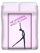 World Of Dance Duvet Cover