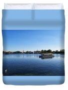 World Showcase Lagoon Walt Disney World Duvet Cover