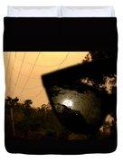World Through Horror Glasses Duvet Cover