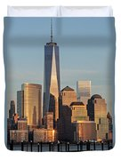 World Trade Center Freedom Tower Nyc Duvet Cover