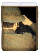 World War 1 Soldier Duvet Cover