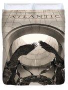 World War 2 Atlantic Memorial Duvet Cover