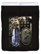 World War 2 Era Submarine Hatch - Pearl Harbor Duvet Cover