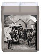 World War I: Ambulance Duvet Cover