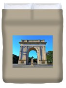 World War I Victory Arch Newport News Duvet Cover