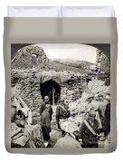 World War I: Wounded, 1918 Duvet Cover