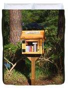 World's Smallest Library Duvet Cover