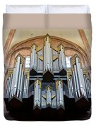 Worms Cathedral Organ Duvet Cover