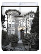 Wormser-coleman Victorian Mansion - San Francisco Duvet Cover