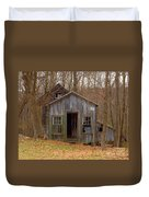 Worn Out Shed Duvet Cover
