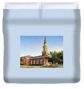 Worthington Presbyterian Church Duvet Cover