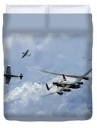 Wounded Warrior Duvet Cover