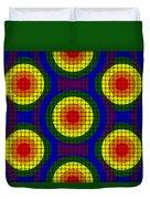 Woven Circles Duvet Cover