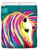 Wpap Horse Duvet Cover