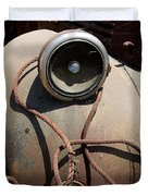 Wrapped Head Lamp Duvet Cover