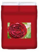Wrapped Red Duvet Cover