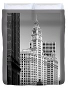 Wrigley Building - A Chicago Original Duvet Cover