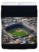 Wrigley Field Chicago Sports 02 Duvet Cover
