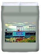 Wrigley Field Chicago Cubs Duvet Cover