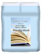 Write It Right - Tips For Authors - The Big Book Duvet Cover