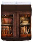 Writer - Books - The Book Cabinet  Duvet Cover