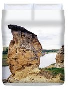 Writing-on-stone Provincial Parks Duvet Cover