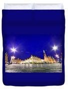 Wroclaw Poland Historical Market Square And The Town Hall Duvet Cover