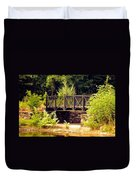 Wrought Iron Bridge Duvet Cover