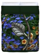 Wrought Iron Garden Duvet Cover