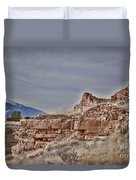 Wupatki National Monument-ruins V15 Duvet Cover